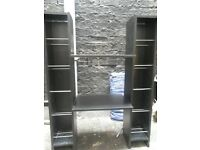 UNWANTED SHELVING UNIT IN BLACK