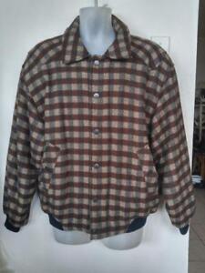 Mens L Calvin Klein Alpaca Wool Bomber Jacket - Just worn once 42 44