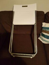 4 ikea gunde folding chairs