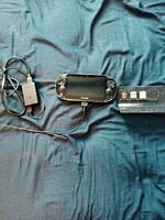 Sony Playstation vita 4gb, charger and 3 games 150$
