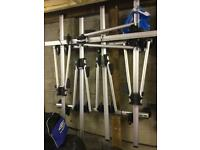 Vauxhall zafira roof bars + 4 bike racks