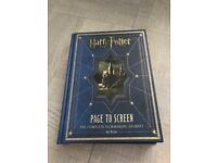 Harry Potter from Page to Screen Book