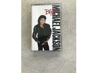 Michael Jackson, Bad Album, Original Cassette Tape, £4