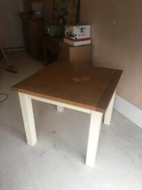 Pullout kitchen table