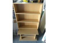 Bookcase and DVD Storage