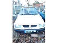 VW CADDY PICKUP VAN SPARES OR REPAIR