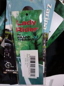 Ladies Frank Thomas Motorcycle / Motorbike Jacket - NEW - size large