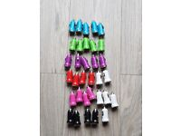 Job Lot 34 In Car Mini Bullet USB Charger Adaptor For Mobile Phone Various Colours