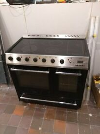 Belling db90 electric range cooker 90cm width