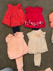 Girlies clothes 9-12 months