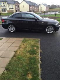 2012 Black BMW, MSport, 1Series, Coupe