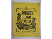 SMALLWOOD'S PIANO TUTOR BOOK