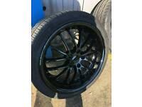 18 inch wheels deep dish vw audi seat skoda