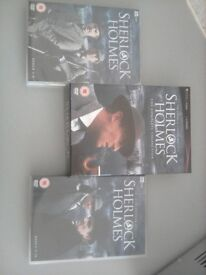 Sherlock Holmes Complete DVD collection