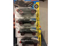 Hotwheels fast and furious 70 Dodge Charger x4