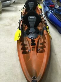 Horizon Tandem 2+1 Sit-on-Top Kayaks only £450