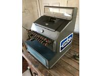 Large Old Vintage Gross Metal Shop Till Cash Register