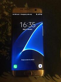 Samsung galaxy S7 edge all network 32GB very good condition