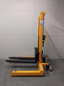 HOC SYC1078 HYDRAULIC LIFT PALLET STACKER FORKLIFT 2200 POUND + 78 INCH HEIGHT + 1 YEAR WARRANTY + FREE SHIPPING