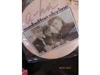 A-HA MANHATTAN SKYLINE 12 INCH PICTURE DISC NEVER BEEN PLAYED STILL IN PLASTIC COVER