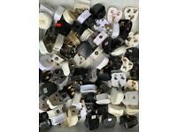 50 UK power 3-pin plugs electrical