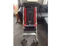 Maclaren elite special needs pushchair and all accessories