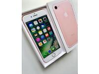 New In Plastic Apple iPhone 7 Rose Gold