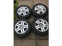 Mk4 Golf gti alloy wheels and tyres