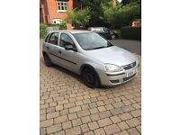 2004 Vauxhall Corsa. 80k. MOT. 5 Door.