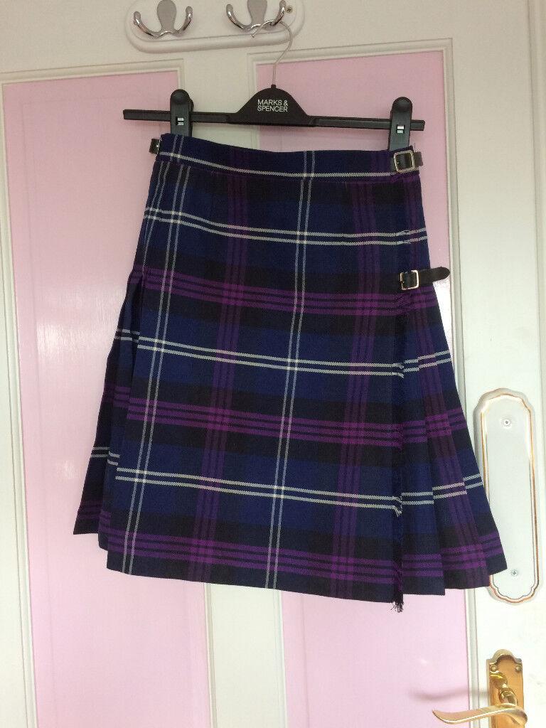 New - girl kilt skirt, UK size 8