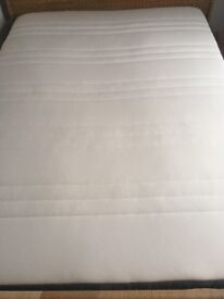Ikea Hovag king size mattress, excellent condition, medium firm
