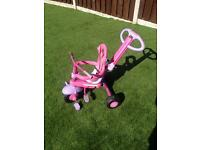 3 wheels kids peddle trike