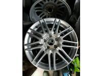 """Honda/Toyota/Mazda/Subaru 17"""" alloy wheels"""