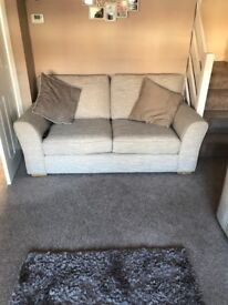 2 NEXT sofas- only 18 months old. Beige colour