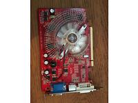 ATi Radeon X1650 512MB DDR2 PCIe VGA/DVI/TVO Graphics Card,