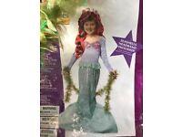 Little Mermaid dress up costume aged 6-8