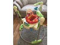 Fisherprice rainforest jumperoo in great used condition. Just selling as my boy has outgrown it