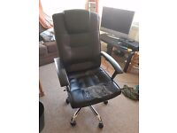 Used Office Chair, Comfortable but Worn! Need Gone ASAP as Leaving Cambridge