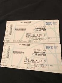 Bananarama Glasgow Tickets