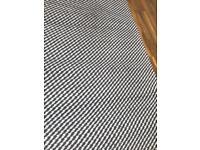 Next blue textured rug