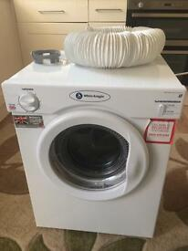 White knight 3kg vented dryer excellent condition fully functional