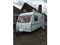 COACHMAN PASTICHE 2005 , 470-2. 2 BERTH . INCLUDES ISABELLA AWNING, MOTOR MOVER , FSH .