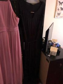 Black brand new size 16 dress