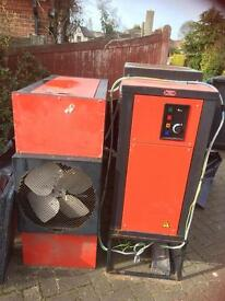 2 x industrial dehumidifiers. 420V 3 phase