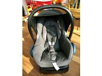 Maxi-Cosi CabrioFix and isofix base (FamilyFix base)
