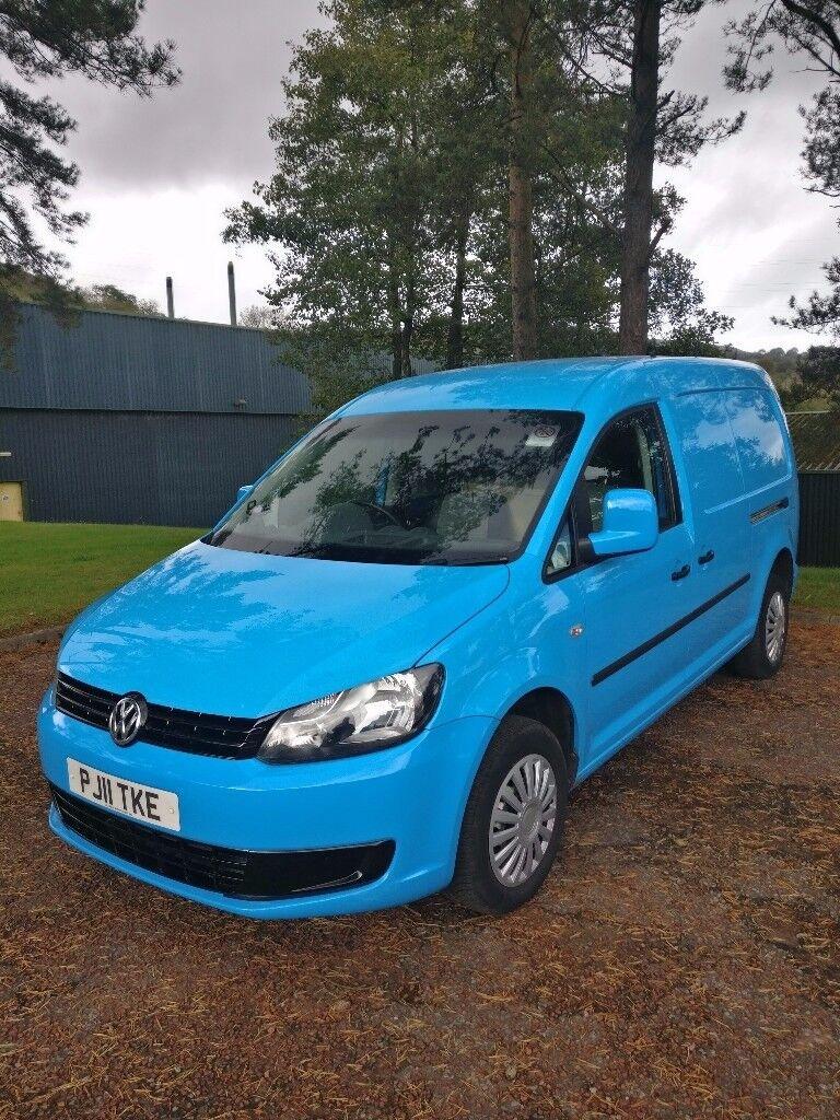 VW Caddy MAXI 1.6 TDI camper day van...BED +12v tv + carpet lined ?...NO VAT