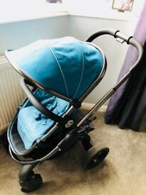Icandy peach 3 peacock pushchair stroller
