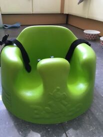 Sold STC - Green Bumbo with straps