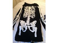 Brand New Ladies Halloween dress costume. Stretchy material so fits all.