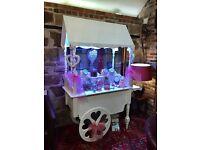 Sweet cart, candy cart hire 'A Treat Cart Named Desire'